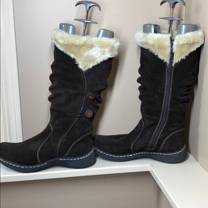 *Never Worn* Faux Fur Lined Winter Boots